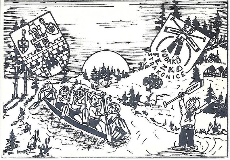 Vodácký tábor Fezko.