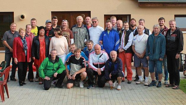 Účastníci Manager Cupu v Blatné.