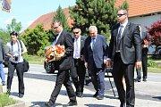 Obec Cehnice navštívil 13. června prezident České republiky Miloš Zeman.
