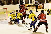 KL ledního hokeje: Strakonice - Milevsko 3:1.