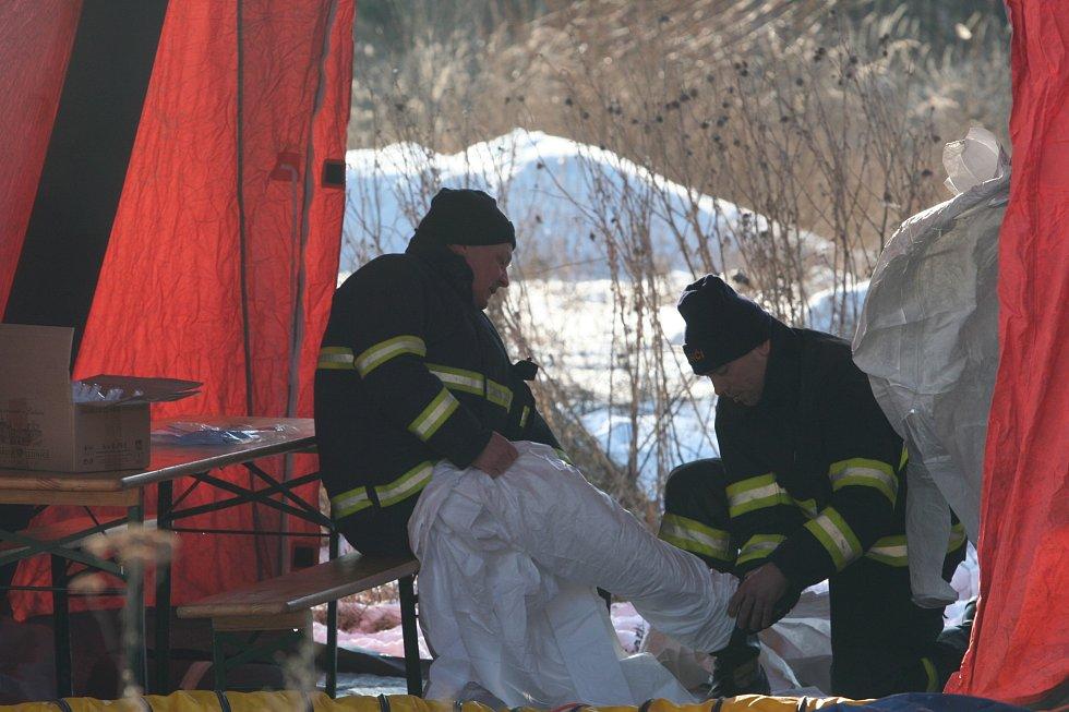 Uzavřený chov kachen společnosti Blatenská ryba museli ve čtvrtek 26. ledna zlikvidovat hasiči a veterináři. Na vině je virus ptačí chřipky, celkem šlo o 6500 kusů kachen. Ty představují cca 20 tun živého masa. Likvidace začala krátce po 13. hodině. Na ji