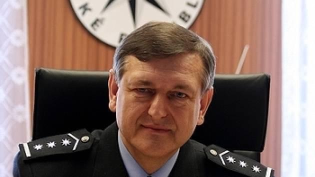 Ředitel příbramské policie Jiří Drábek.