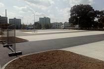 Nové parkoviště na Beranově dvoře.