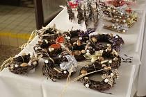 Vodňany – Prodejní výstava výrobků žáků oboru zahradník Středního odborného učiliště služeb ve Vodňanech je v plném proudu.