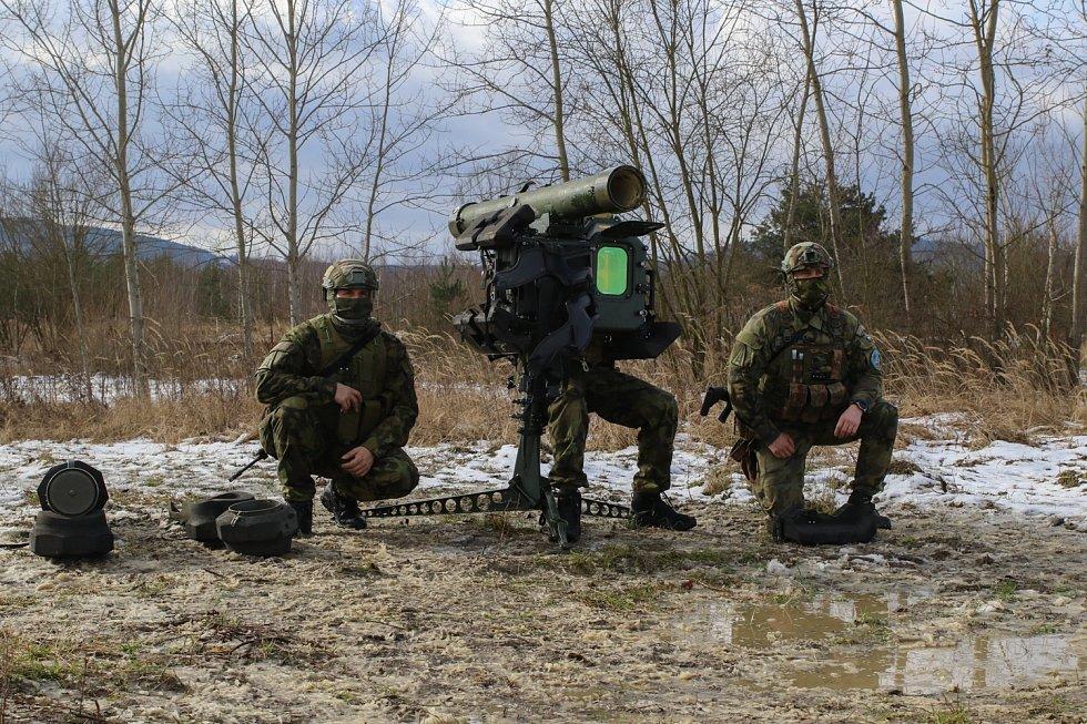 Výcvik v bojové službě.