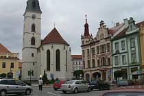 Vodňanský kostel.
