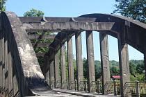 Most přes Blanici.