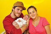 Marika Rydvalová, Strakonice, 10.10.2018 ve 12.00 hodin, 3150 g. Malá Marika je prvorozená.