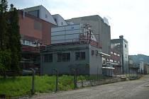 Výrobní haly strakonické mlékárny