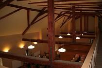 Pohled do Rytířského sálu na strakonickém hradě