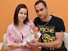 Yvette Charlotte Kuttnerová, Strakonice, 14.3. 2015 ve 13.14 hodin, 2230 g. Malá Yvette je prvorozená.