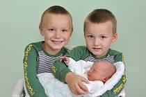 Michal Ungerman ze Strakonic. Míša se narodil 26. září 2019 v 15 hodin a 51 minut a jeho porodní váha byla 3 470 gramů. Na chlapečka již doma čekali sourozenci Artur (5) a Tobiáš (4).