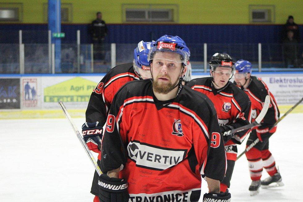 Strakoničtí hokejisté jsou v semifinále play off. Ilustrační foto