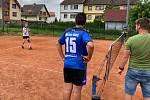 Starší žáci sehráli krajský nohejbalový turnaj v singlech.