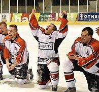 Hokejisté ze Strakonic jsou vítězi krajské ligy.