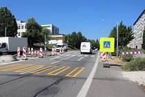 Od  8. září přibude na přechodu pro chodce v Katovické ulici ve Strakonicích i potkávací semafor.