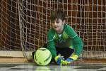 Odstartovala soutěž v halovém fotbale přípravek.