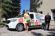 Nové auto pro Domácí hospic sv. Markéty ve Strakonicích.