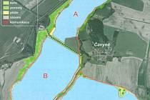Tři jezera měla vzniknout na místě těžby po jejím skončení. Je jasné, že se jich místní nedočkají. Těm to ale  nevadí.