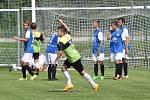 Osecký Jan Hoch vyrovnal v 81. minutě na 2:2, Marek Novák z Táborska B ale v 88. minutě strhl vítězství na stranu hostů, dal na 3:2.