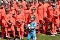 Mladí fotbaloví gólmani si dali dostaveníčko ve Strakonicích.
