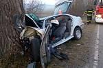 K dopravní nehodě došlo v pondělí 21.1. ledna 2019 nedaleko Bavorova.