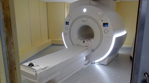 Magnetická rezonance ve Strakonicích.