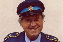 Dlouholetý člen hasičského sboru v Řepici Václav Kopp.