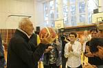 Křest Zlaté knihy strakonického basketbalu.
