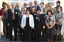 Německou delegaci přivítala SŠ  JŠ Volyně.