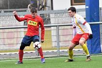 Fotbalová příprava: Junior Strakonice - Čimelice 2:3.
