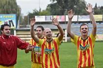 Fotbalisté Junioru Strakonice porazili Bavorovice 2:0, oba góly byly z penalt.