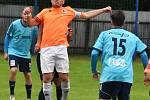 Fotbalová Fortuna divize: Katovice - Hořovice 2:0.