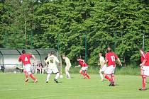Fotbalová I.B třída: Strunkovice - Stachy 1:2.