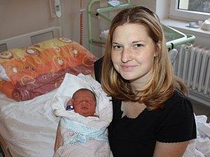 Matyáš Gregorovič, Bělčice, 6. 1. 2018, v 18.54 hodin, 3300 g. Malý Matyáš je prvorozený.