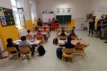 Začátek školního roku v Bavorově.