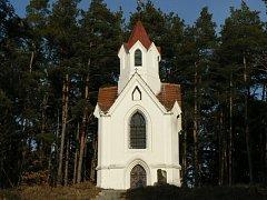 Kaple Anděla Strážce nad Volyní.