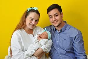 Ella Mayalehová z Blatné. Ella se narodila 8.5.2018 ve 13 hodin a 25 minut a při narození vážila 3410 g. Malá Ella je prvorozená.