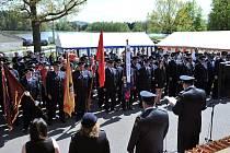 U příležitosti květnové pouti se ve Skaličanech na Blatensku slavilo 120 let od založení místního sboru dobrovolných hasičů.