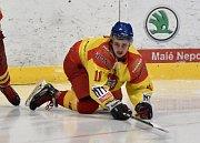 Sokol Radomyšl v domácím prostředí na píseckém ledě zdolal Jiskru Humpolec.