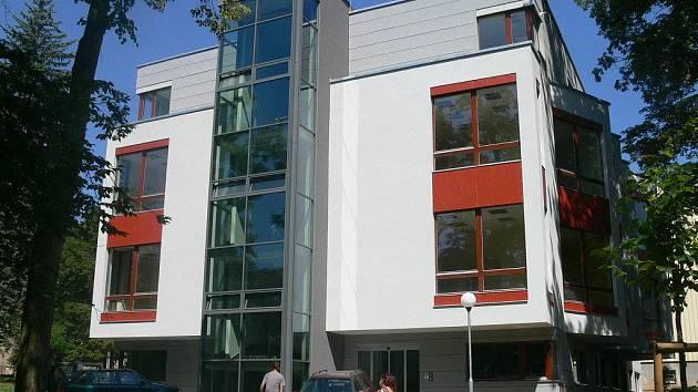 Nemocnice ve Strakonicích. Nová budova chirurgie. Ilustrační foto