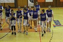 Basketbalistky Strakonic vedly na Slavii ještě ve třetí čtvrtině. Nakonec bral výhru domácí favorit.