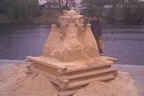 Cipískoviště - náplavka Písek 2016