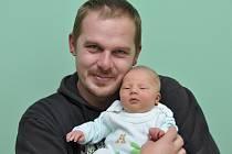 Dominik Martínek, Nový Svět, 24.9. 2015 v 8.30 hodin, 3550 g. Malý Dominik je prvorozený.