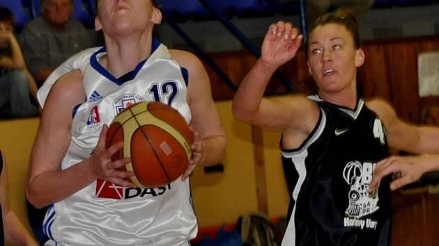 Strakonické basketbalistky porazily  Karlovy Vary podruhé v sezoně.