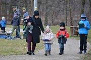 Děti se zúčastnily hravého odpoledne v areálu fakulty ve Vodňanech.