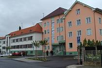 Nová policejní budova.