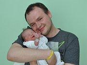 Tereza Mikalová, Strakonice, 21.5. 2017 ve 22.47 hodin, 3120 g. Malá Tereza je prvorozená.
