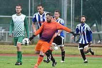 Fotbalový KP: Blatná - Český Krumlov 1:2.