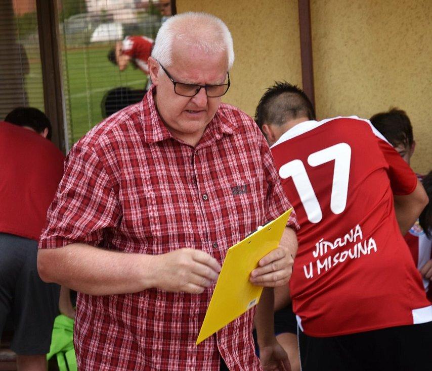 Přípravný fotbal: Blatná - Nepomuk 5:2. Domácí fotbalisty již vedl nový trenér Jaroslav Voříšek.